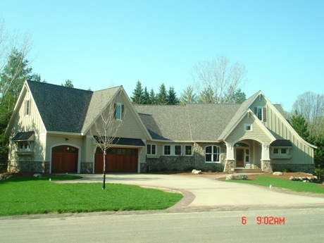 new home near ST Croix river, mn